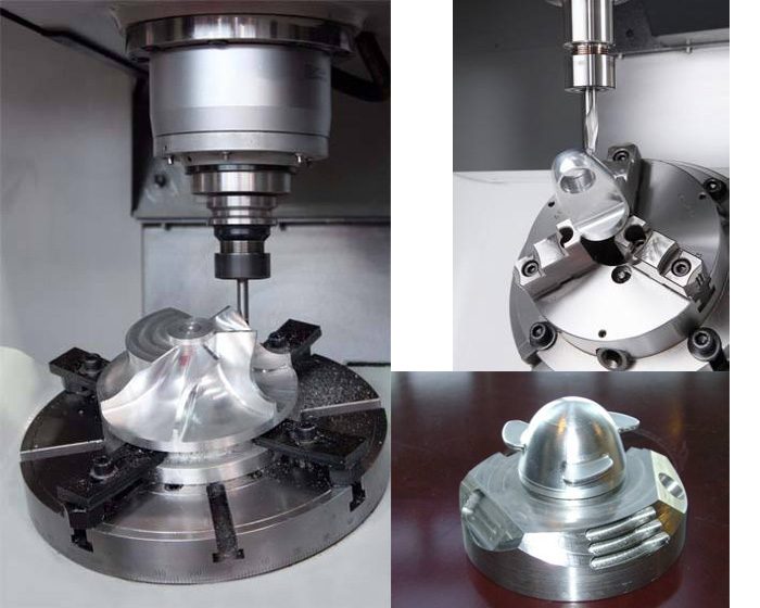 5 axis cnc machined part