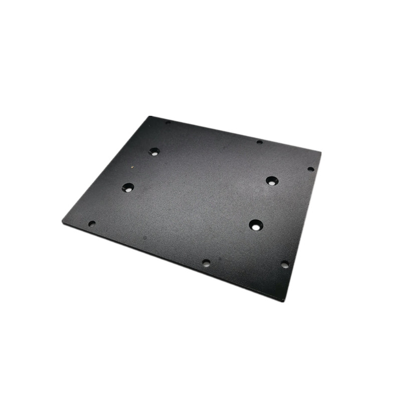 CNC Machining Aluminum Plate Cover Rapid Prototype tooling turning lathe