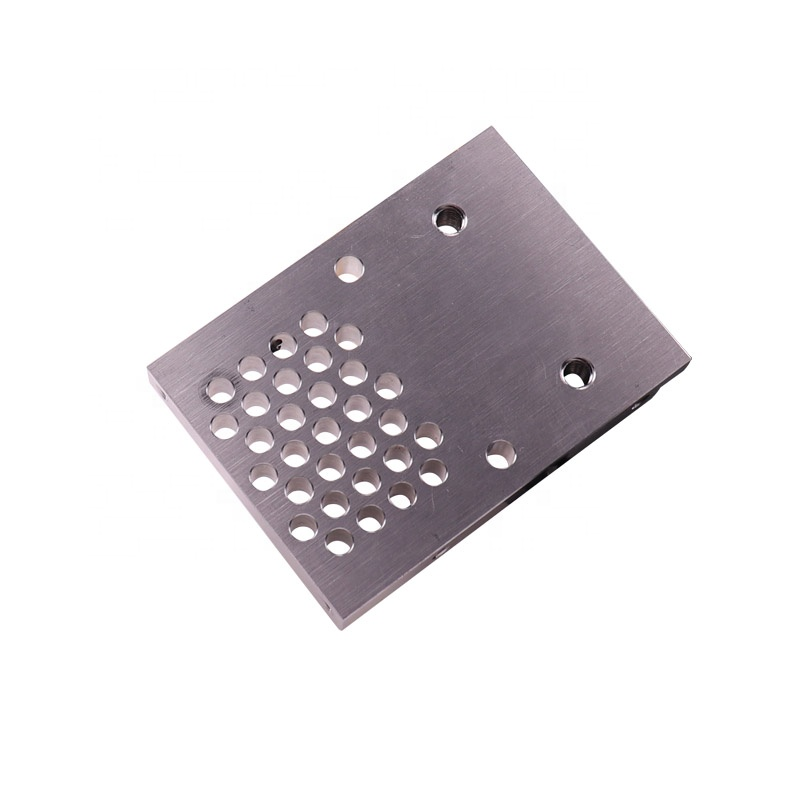 Custom CNC Precision Metal Aluminum Lathed Milling Block Part